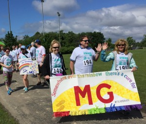 "Janet Bauer's Family & Friends: ""Somewhere Over the Rainbow There's a Cure for MG!"""
